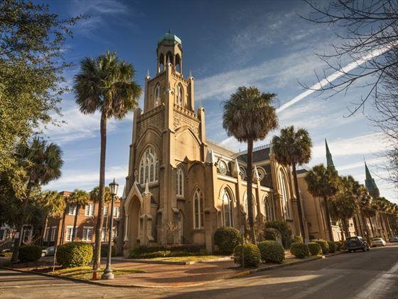 Savannah Congregation Mickve Israel synagogue