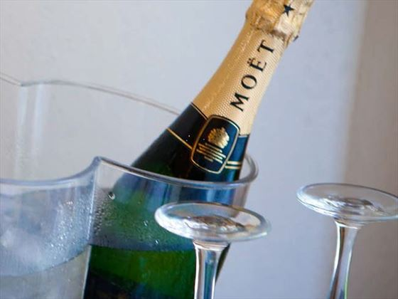 Champagne on ice for your celebration