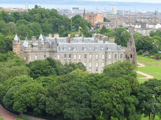 Holyroodhouse Edinburgh Scotland