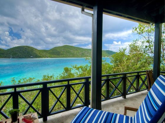 Scrub Island balcony views