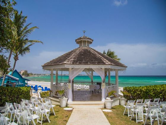 Sea Breeze wedding gazebo