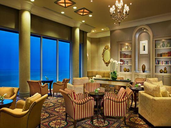 Seating area at Ritz Carlton