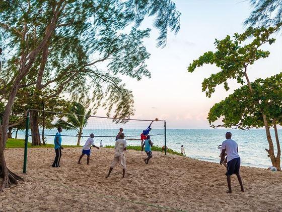 Serena Beach Resort beach volleyball