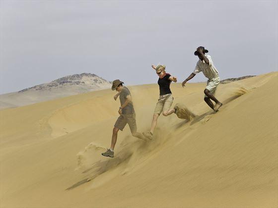 Serra Cafema Camp sand dunes