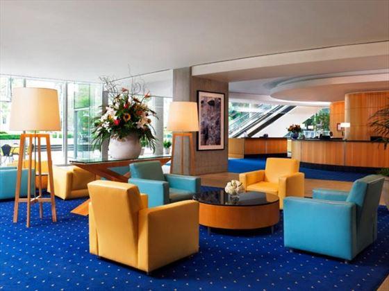 Sheraton Wall Centre Lobby