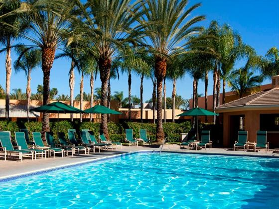 Sheraton Park Hotel at the Anaheim Resort pool