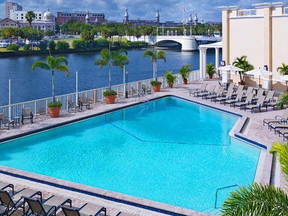 Sheraton tampa riverwalk hotel tampa north gulf coast american sky for Hillsborough swimming pool prices