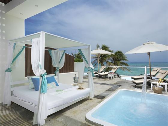 Siam Ka'ana at Grand Oasis Tulum, Junior Suite terrace