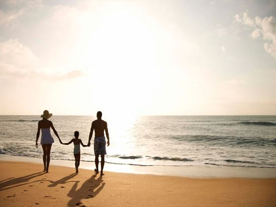Relax as a family amongst beautiful surrounding landscapes in the Caribbean