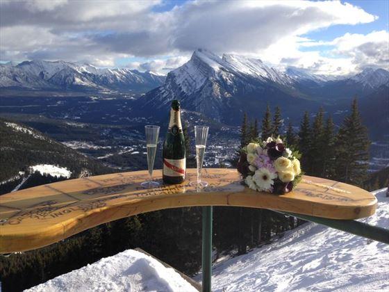 Stunning wedding views