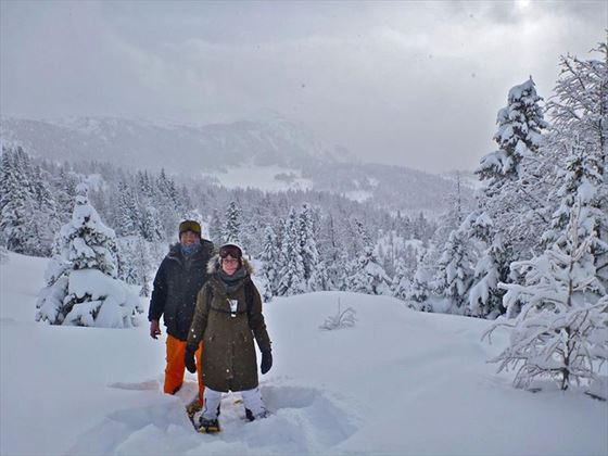 The Snowshoe wedding adventure!