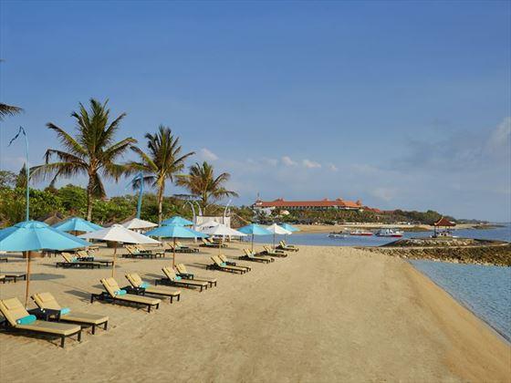 The beach at Sol Beach House Melia Benoa
