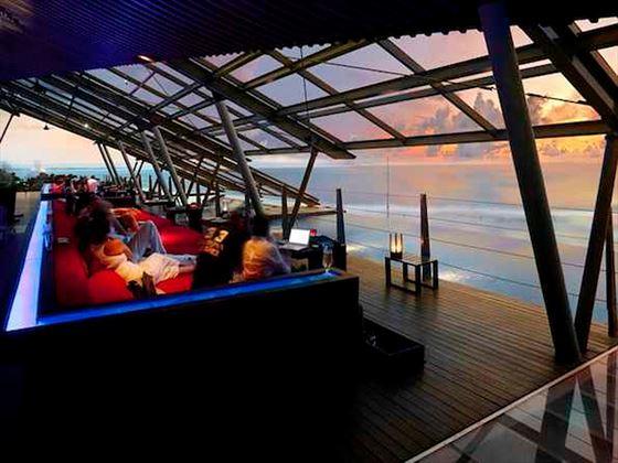SOS rooftop cocktail terrace at Anantara Seminyak