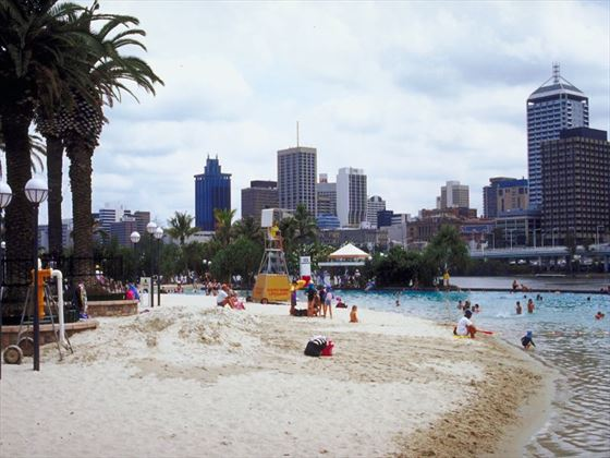 South Bank Parklands Beach, Brisbane