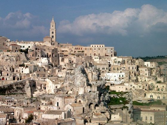 The cave dwellings of Matera