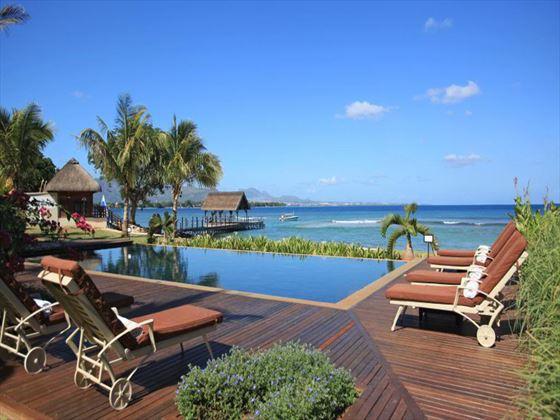 Pool at Intercontinental Mauritius