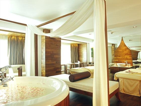 Spa facilities at dusit D2