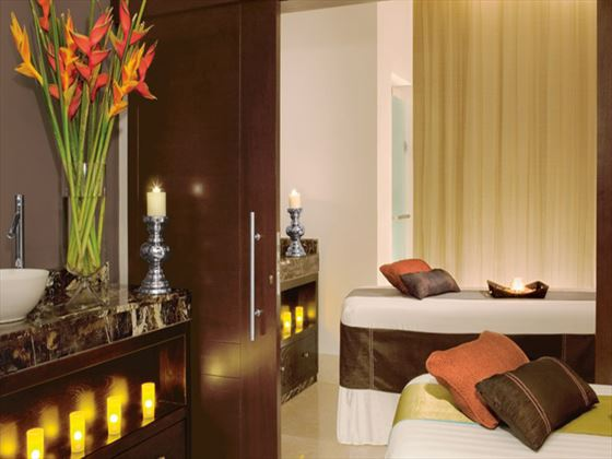 Spa massage room at Secrets Wild Orchid