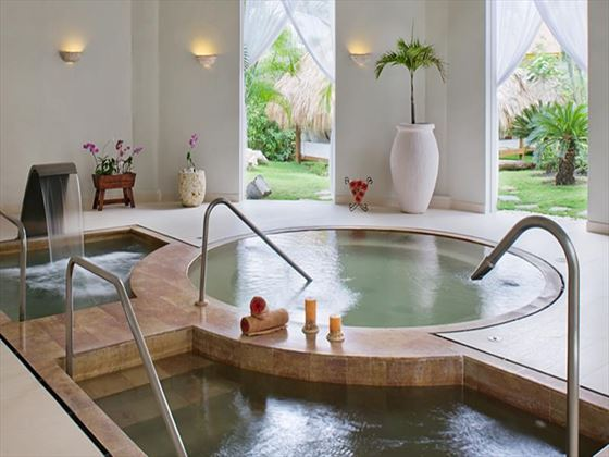 Spa pools at Excellence Punta Cana