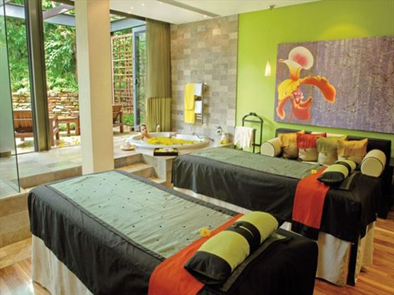 Spa room at Vineyard Hotel