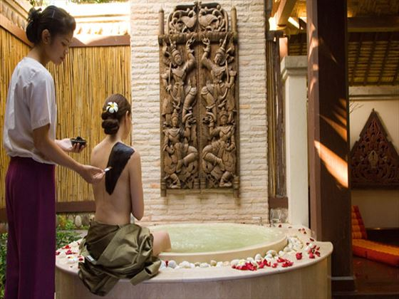 Spa treatment at Pimalai Resort & Spa