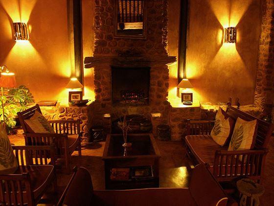 Stanley Safari Lodge seating area