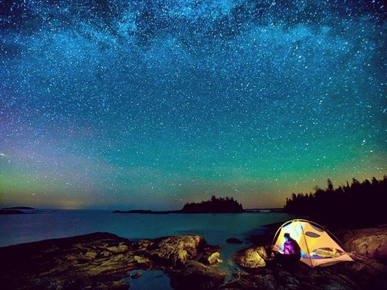 Stargazing in Bruce Peninsula, Ontario