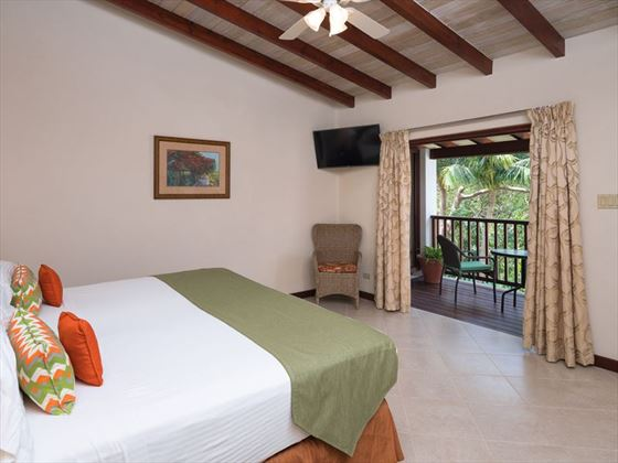 Garden View room at Sugar Cane Club Resort & Spa