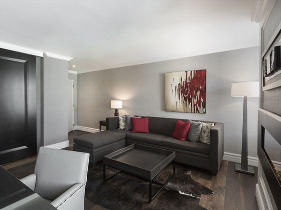 Suite Deluxe living area
