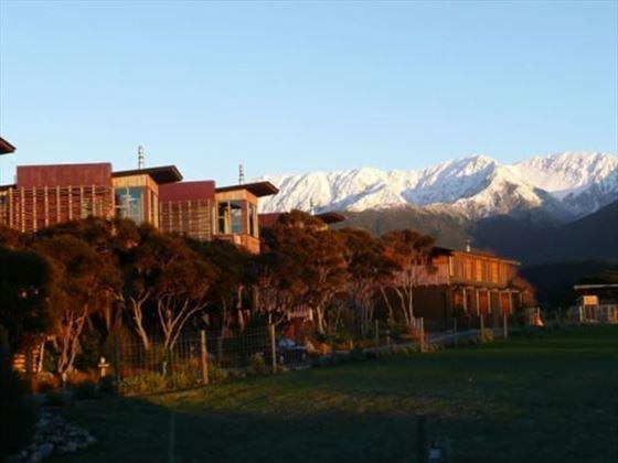 Surrounding scenery at the Hapuku Lodge & Tree Houses