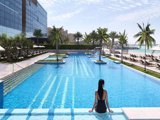 Swimming pool at Fairmont Bab Al Bahar