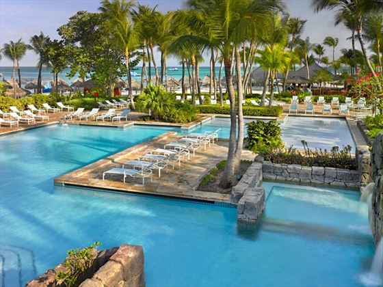 Swimming pool at Hyatt Regency Aruba Resort & Casino