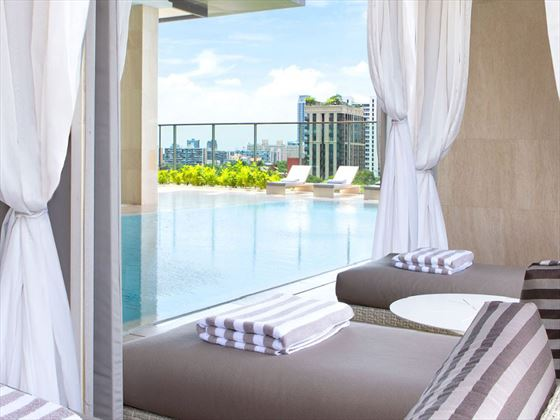 Swimming pool at Oriental Residence