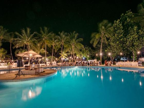 Swimming pool at Sandies Tropical Village