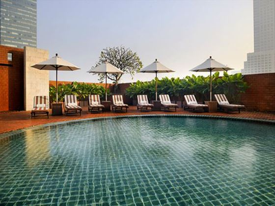 Swimming pool at Tower Club at lebua