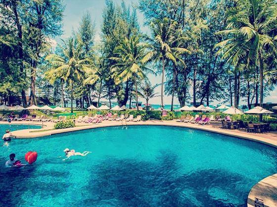 Swimming pool at Dusit Thani Laguna, Phuket