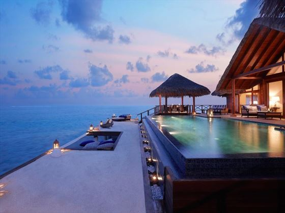 Rehendi Presidential Suite at Taj Exotica Resort & Spa