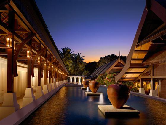 Tanjong Jara Resort at night