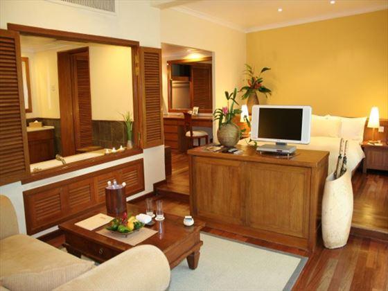 Tanjung Rhu Resort living room