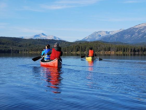 Terra Nostra Ranch, canoeing activities