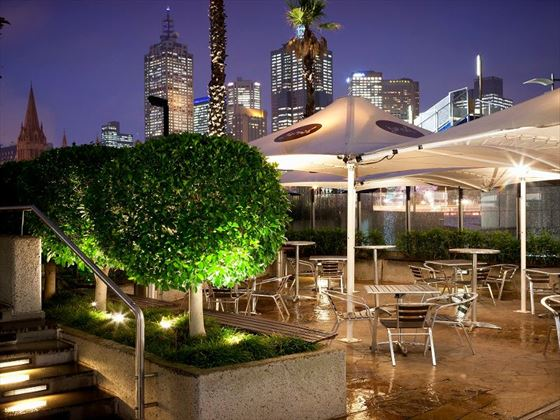 Terrace Bar at Quay West Suites Melbourne