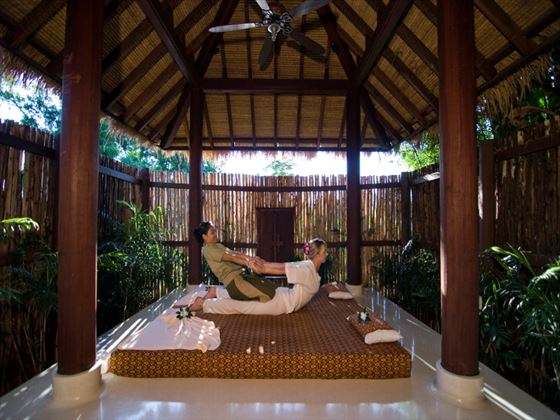 Thai spa massage at Anantara Phuket Villas