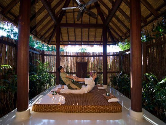 Thai spa massage at Anantara Phuket Villas