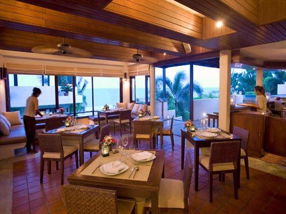 The Cellar restaurant at Aleenta Hua Hin Pranburi Resort and Spa