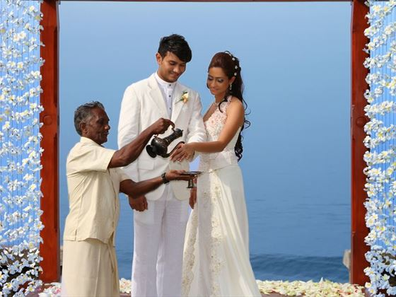 The traditional Sri Lankan wedding ceremony