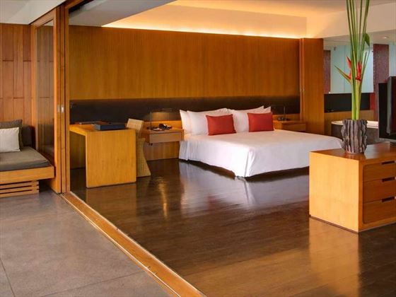 The Chedi Club Suite bedroom