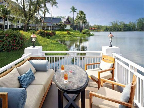 The Club lounge at Outrigger Laguna Phuket Beach Resort
