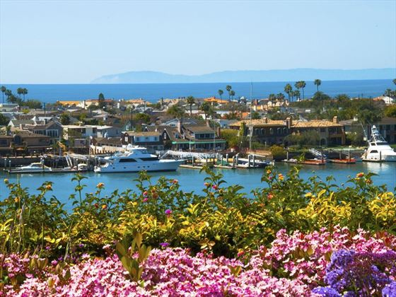 The colours of Newport Beach