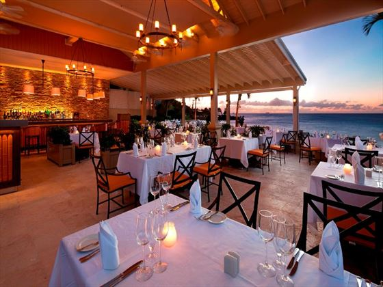 The Cove restaurant at Blue Waters Hotel