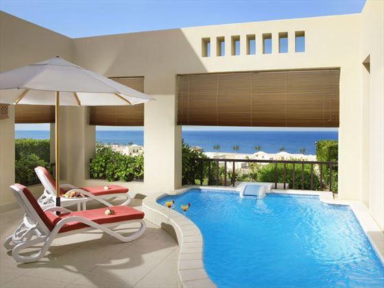 The Cova Rotana, Villa plunge pool